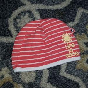 Life Is Good Infant Hat